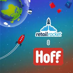 персонализации главной страницы интернет-магазина Hoff.ru