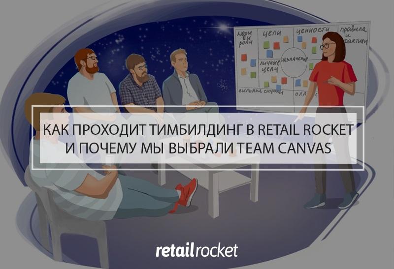 Как проходит тимбилдинг в Retail Rocket и почему мы выбрали Team Canvas