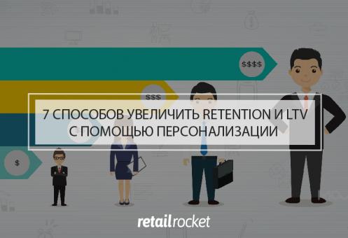 7 способов увеличить retention и LTV с помощью персонализации коммуникаций
