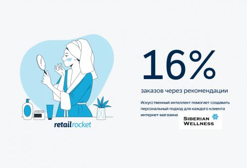Как получать более 16% заказов с помощью персонального подхода: кейс Siberian Wellness