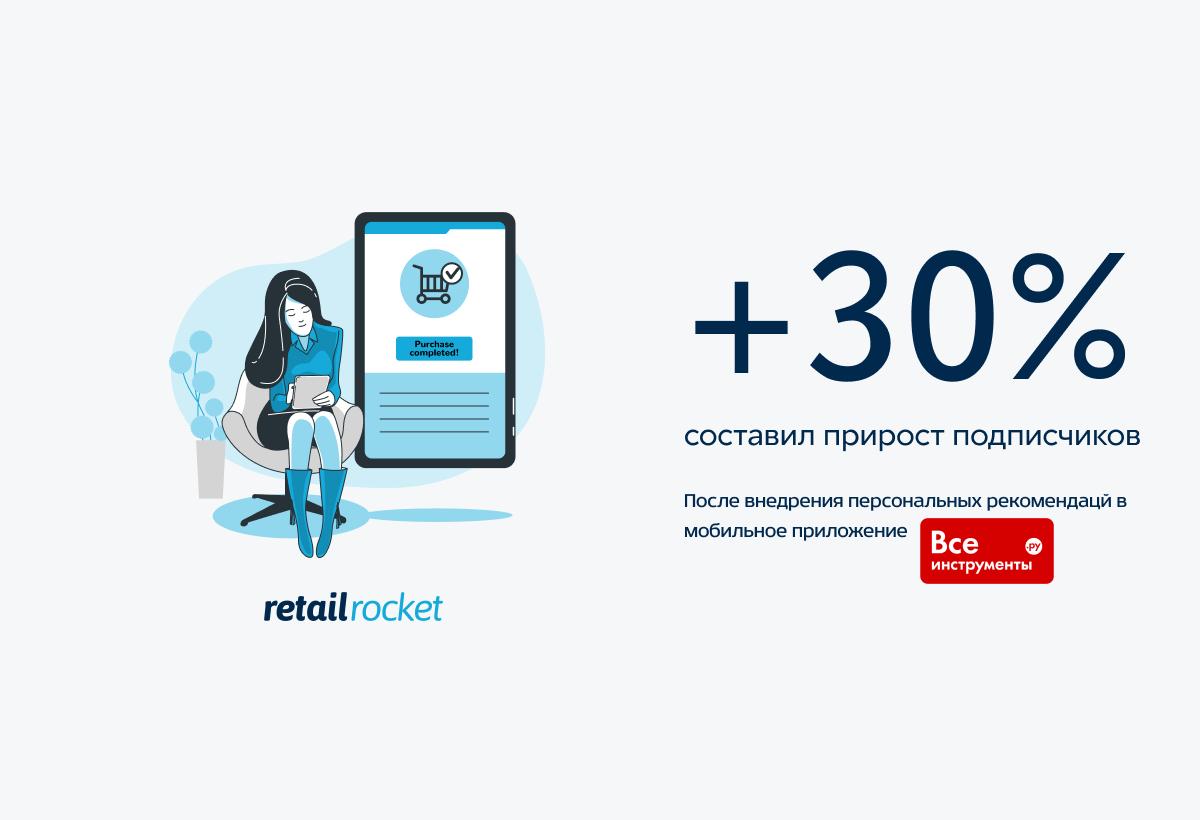 Персонализация предложений в мобильном приложении и интернет-магазине: кейс vseinstrumenti.ru