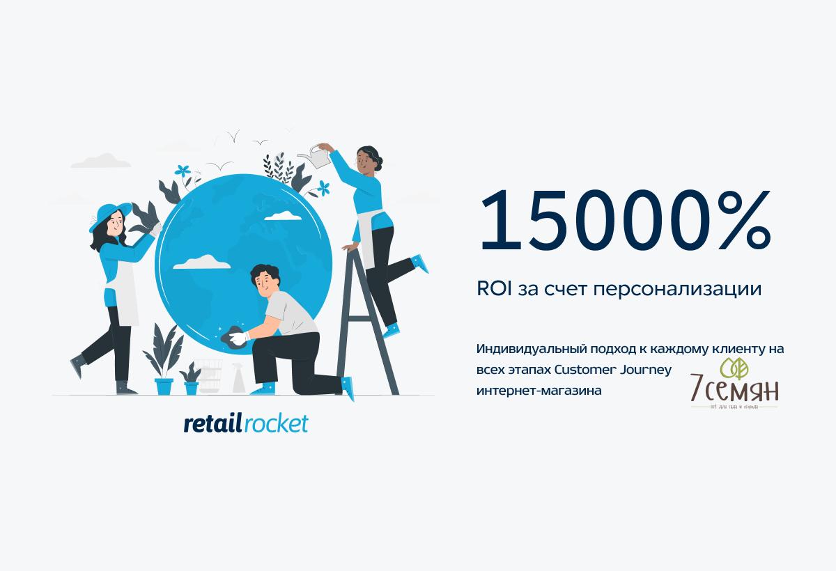 Как обеспечить ROI 15000% за счет персонального подхода на сайте: кейс «7 семян»