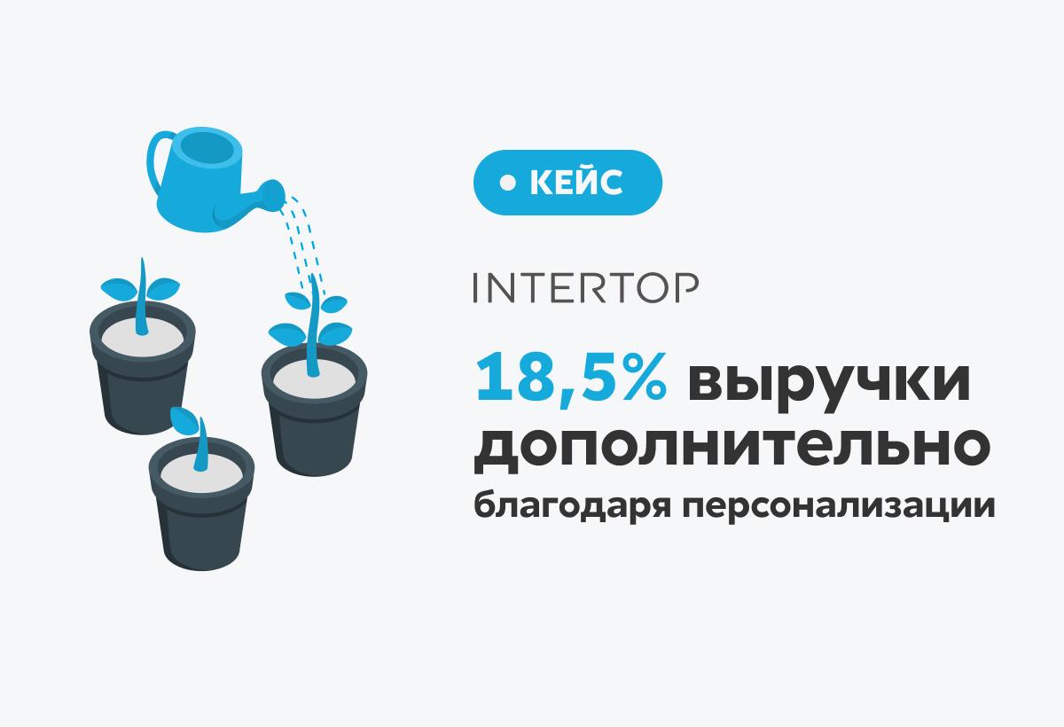 Как помогать клиенту с выбором и получать 18,5% дополнительной выручки с помощью онлайн-рекомендаций на сайте: кейс INTERTOP